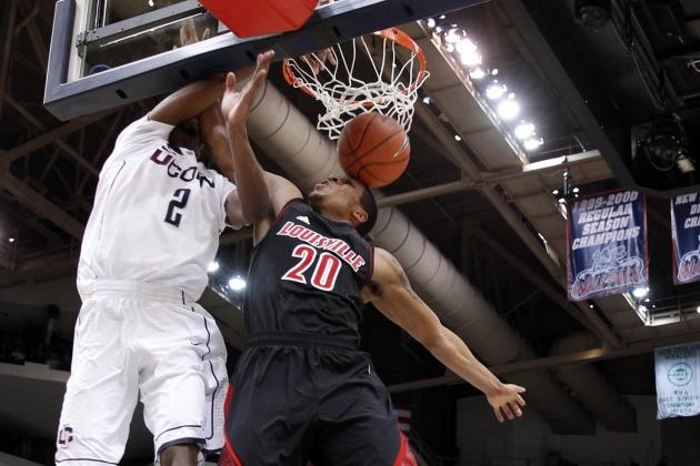 No. 1 Louisville Beats UConn 73-58