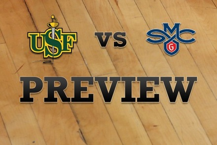 San Francisco vs. Saint Mary's: Full Game Preview