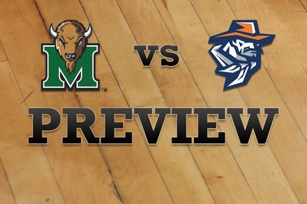 Marshall vs. UTEP: Full Game Preview
