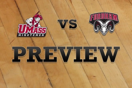 Massachusetts vs. Fordham: Full Game Preview