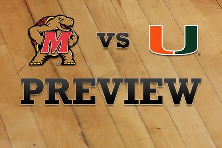 Maryland vs. Miami: Full Game Preview