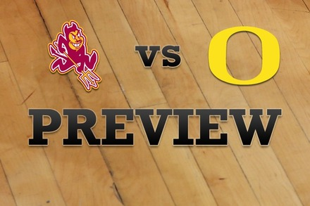 Arizona State vs. Oregon: Full Game Preview