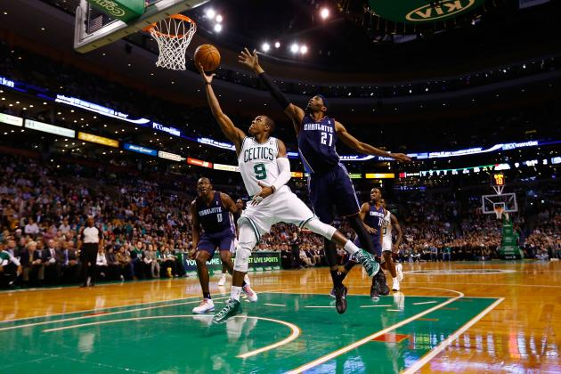 Rajon Rondo Notches Triple-Double as the Celtics Beat the Bobcats 100-89