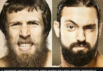 Who has the better beard? WWE App screenshot