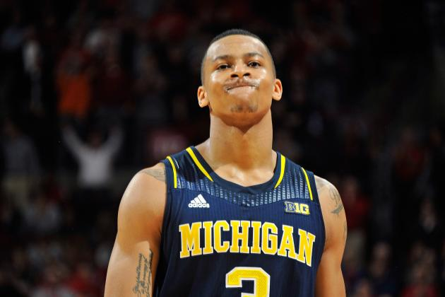 Beilein Had No Problem with Trey Burke's 3 Late vs. Ohio State