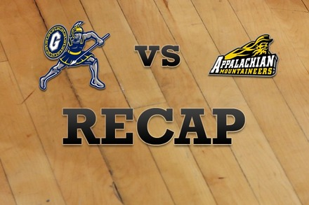 UNC-Greensboro vs. Appalachian State: Recap and Stats