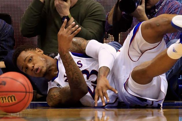 Ben McLemore Injures Ankle in Kansas' Win