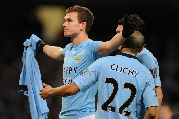 Manchester City: Noises from Dzeko, Aguero Ominous as Sky Blues Chase United