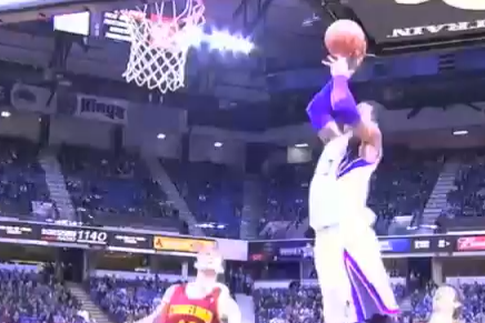 Video: Thomas Robinson Buzzer-Beater Alley-Oop