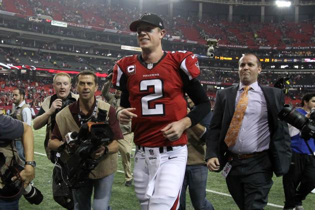 Why Matt Ryan's Performance in His First Playoff Win Proves He Is Elite