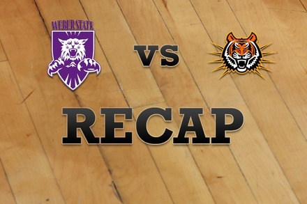 Weber State vs. Idaho State: Recap and Stats