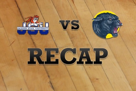 Jackson State vs. Prairie View A&M : Recap and Stats