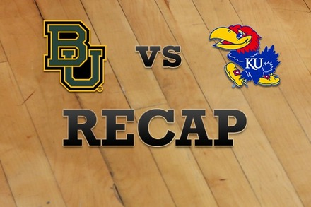 Baylor vs. Kansas: Recap and Stats
