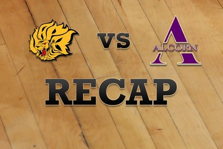 Arkansas-Pine Bluff vs. Alcorn State: Recap and Stats