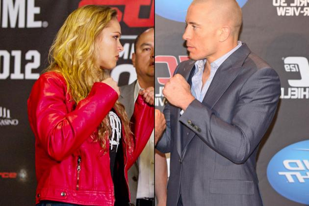 Is Ronda Rousey's Grudge Against UFC Champion GSP a Bad Career Move?