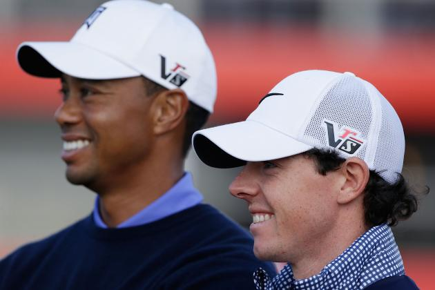 Tiger, McIlroy Downplay Talk of Budding Rivalry