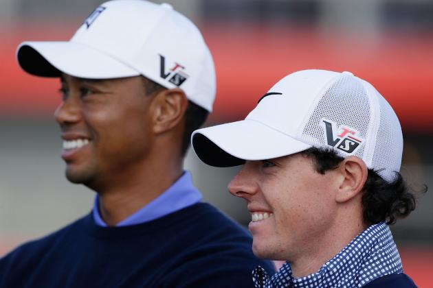 Tiger, McIlroy Downplay Talk of Budding Rivalry