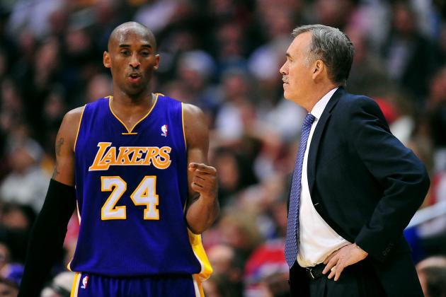 Mike D'Antoni Minces Words When Describing Kobe Bryant's Defense