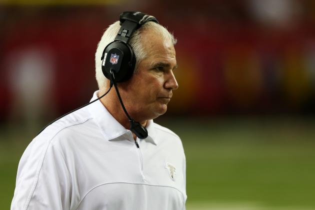 San Francisco 49ers vs. Atlanta Falcons: HC Mike Smith Already Losing Sleep