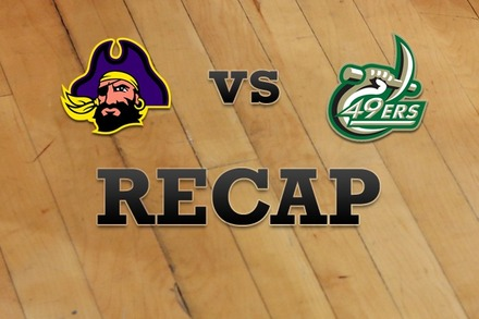 East Carolina vs. Charlotte: Recap and Stats