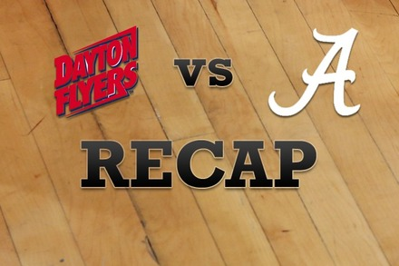 Dayton vs. Alabama: Recap and Stats