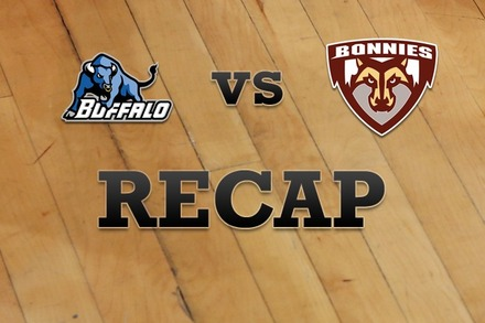Buffalo vs. St. Bonaventure: Recap and Stats