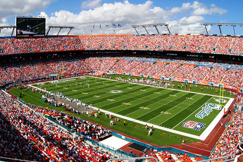 Miami Dolphins' Owner Pledges $400 Million Stadium Facelift