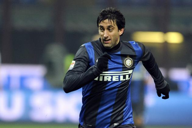 Football Transfer Rumours: Arsenal to Sign Diego Milito from Internazionale?