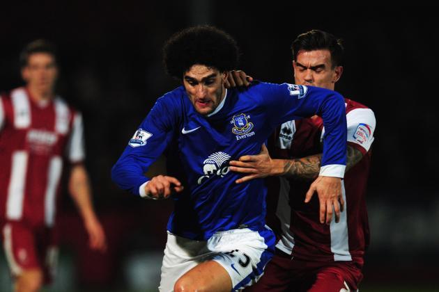 Tactical Breakdown: Analysing How Everton Use Marouane Fellaini
