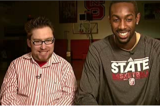 Wheelchair Court Stormer, Will Privette and CJ Leslie Talk to USA Today