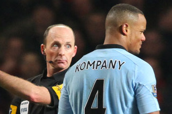 Vincent Kompany's Red Card Overturned
