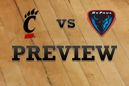 Cincinnati vs. DePaul: Full Game Preview