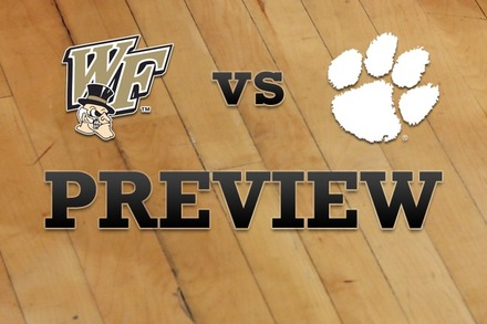 Wake Forest vs. Clemson: Full Game Preview