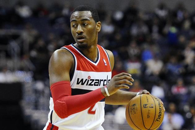 John Wall Leaves Ish Smith on the Floor