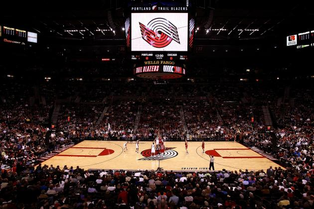 Blazers Trying to Sell Naming Rights for Rose Garden