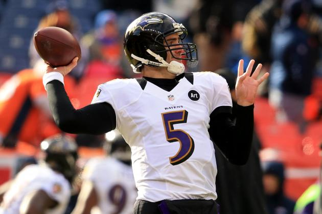 Super Bowl 2013: Joe Flacco's Arm Will Lead Ravens to Title Game