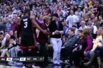 Watch: D-Wade Gets Jazz Fan Ejected