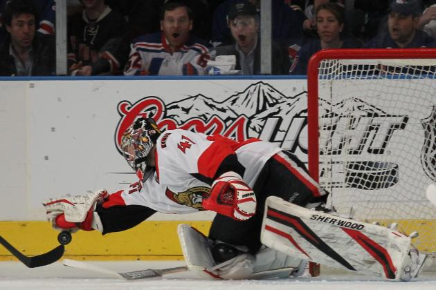 Craig Anderson Still Senators' No. 1 Goalie