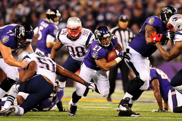 AFC Championship 2013: Ray Rice vs. Stevan Ridley Key Matchup to Watch
