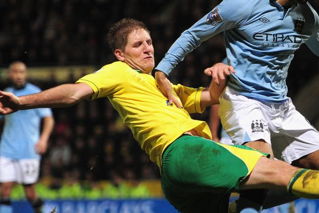 Norwich Defender Michael Turner Determined to Avoid Repeat of Liverpool Mauling