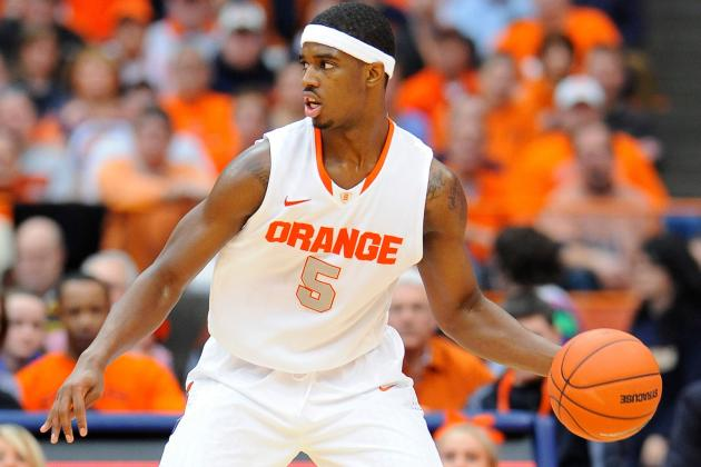 Syracuse's C.J. Fair Named Big East Player of the Week