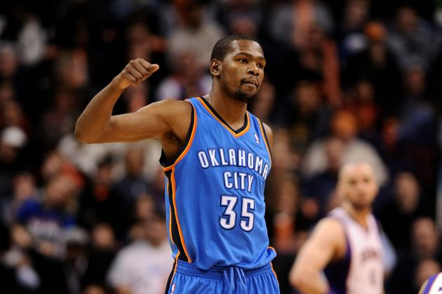 Kevin Durant Fueling MVP Candidacy with Electric Scoring Display