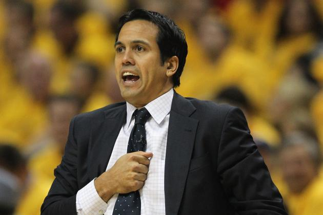 Wade and Bosh Benched by Heat Coach Erik Spoelstra but Not LeBron James