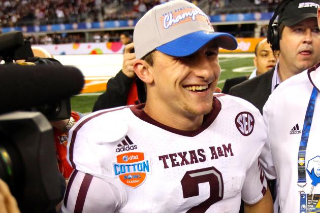 Must Texas A&M Worry About Johnny Manziel's Off-Field Activity This Offseason?