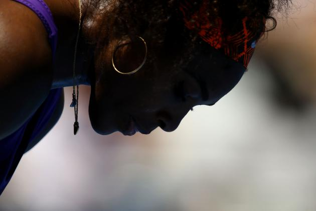 Australian Open 2013: Serena Williams' Injured Ankle Won't Keep Her from Title
