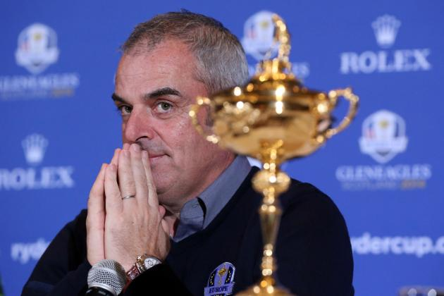 Paul McGinley Named 2014 European Ryder Cup Captain