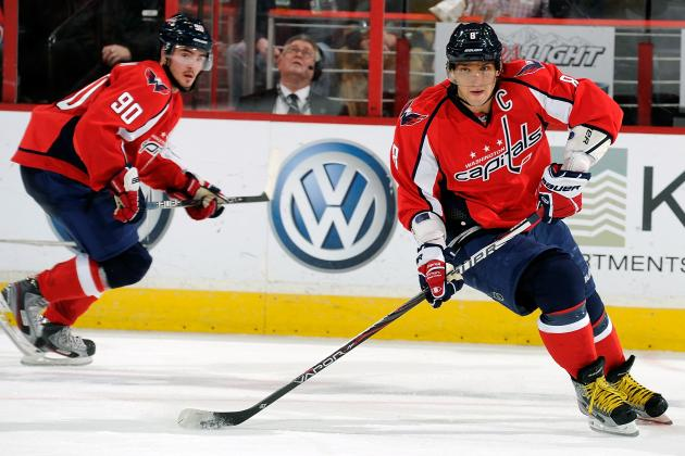 Ovechkin, Johansson Collide but Both Escape Unscathed