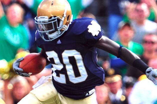 Notre Dame Football: How Cierre Wood Going Pro Impacts Irish's 2013 Offense