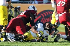 Michigan's Smith Discusses Clowney's Big Hit