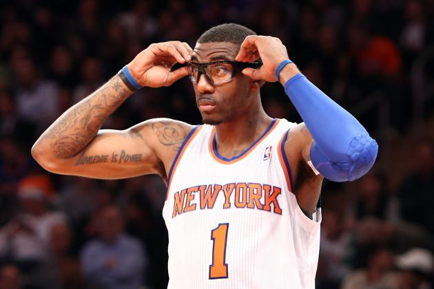 Amar'e Stoudemire Must Remain in Bench Role Where He Belongs